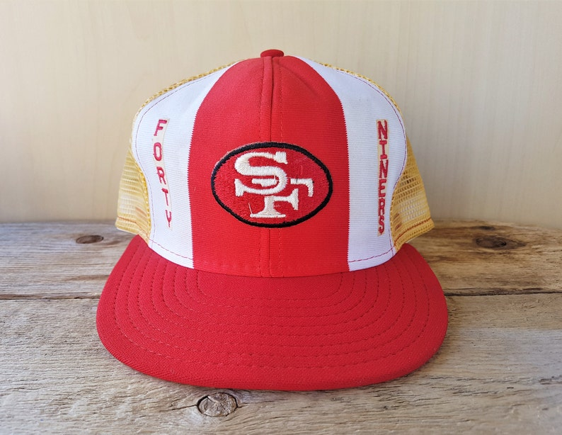 f9dcf9bddbd SAN FRANCISCO 49ers Vintage 80s  Lucky Stripes