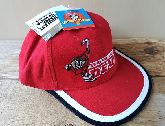 Vintage 90s TAZ New Jersey DEVILS Official NhL YOUTH Snapback  444ed9ca5c5d