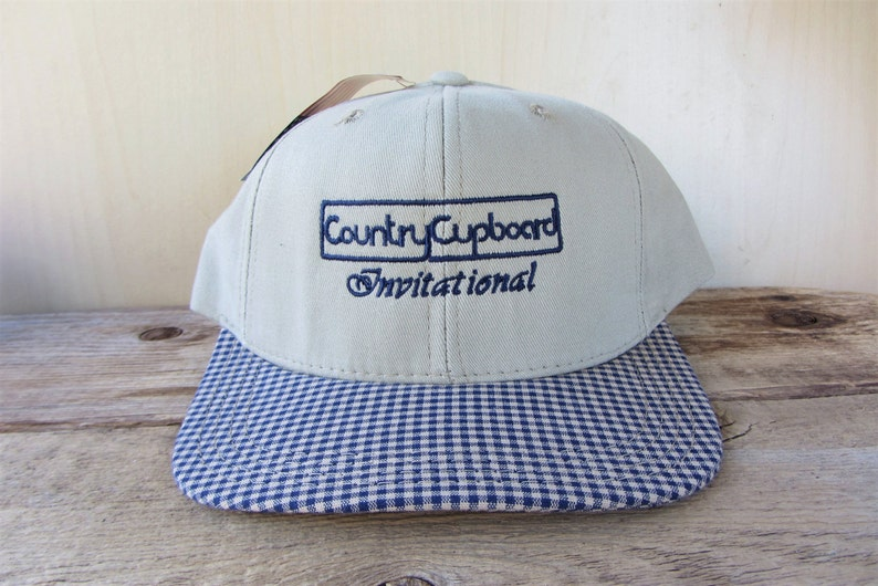 d224ec9b96f28d Vintage 90s COUNTRY CUPBOARD INVITATIONAL Strapback Hat | Etsy