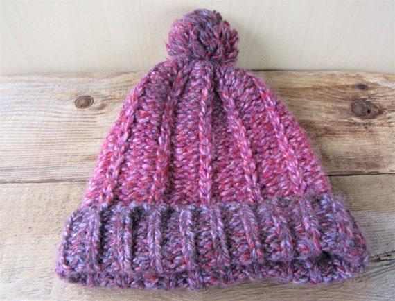 32ca2856498 CAPPELLIFICIO FIORENTINO Vintage Wool Blend Knit Hat Graduated