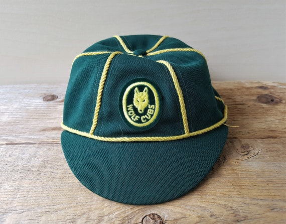 6e08f980206 Vintage Official WOLF CUBS Boy Scouts of Canada Hat Original
