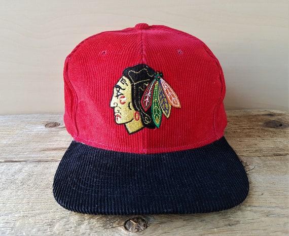 77ecd4916 CHICAGO BLACKHAWKS Original Vintage 80s Official Licensed NHL