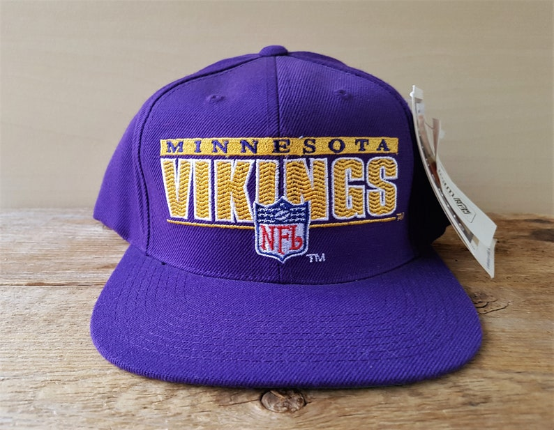 MINNESOTA VIKINGS Vintage 90s Sports Specialties NFL Pro  bb9a1ab6b