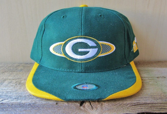 Green Bay PACKERS Vintage 90s Sports Specialties Hat Official  fd8ae25ab