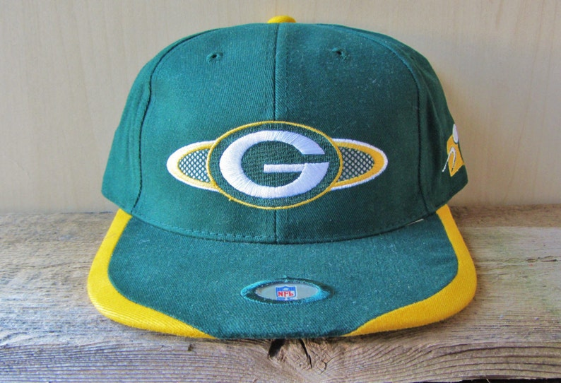 dbec535a Green Bay PACKERS Vintage 90s Sports Specialties Hat Official | Etsy