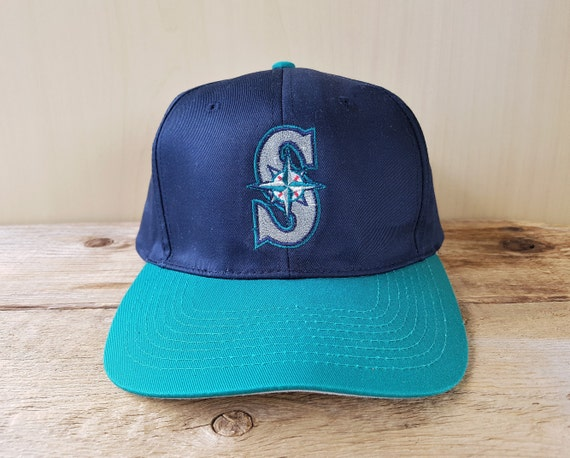 Seattle MARINERS Vintage 90s Snapback Hat Fiber Optic Lights  8786bdb5c6f7