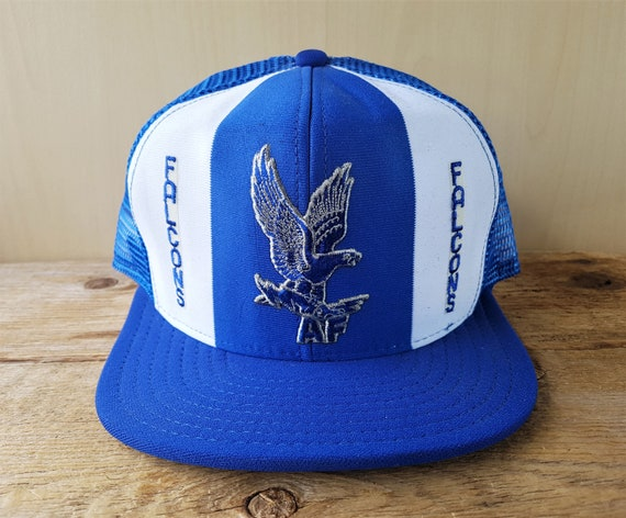 Air Force FALCONS Vintage 80s  Lucky Stripes  Trucker  a63fb8cbd181
