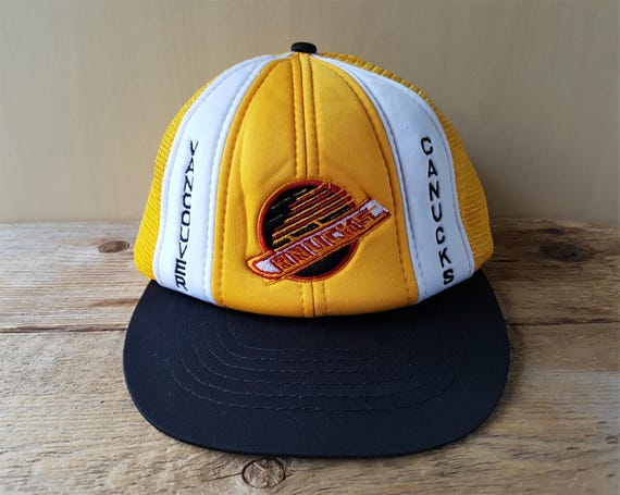 dfb71889 Vancouver CANUCKS Original Vintage 80s Trucker Hat Official | Etsy