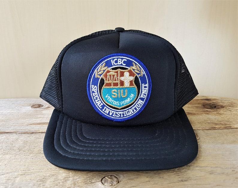 c5904843f7b48 ICBC Special Investigations Unit SIU Police Vintage Black Mesh