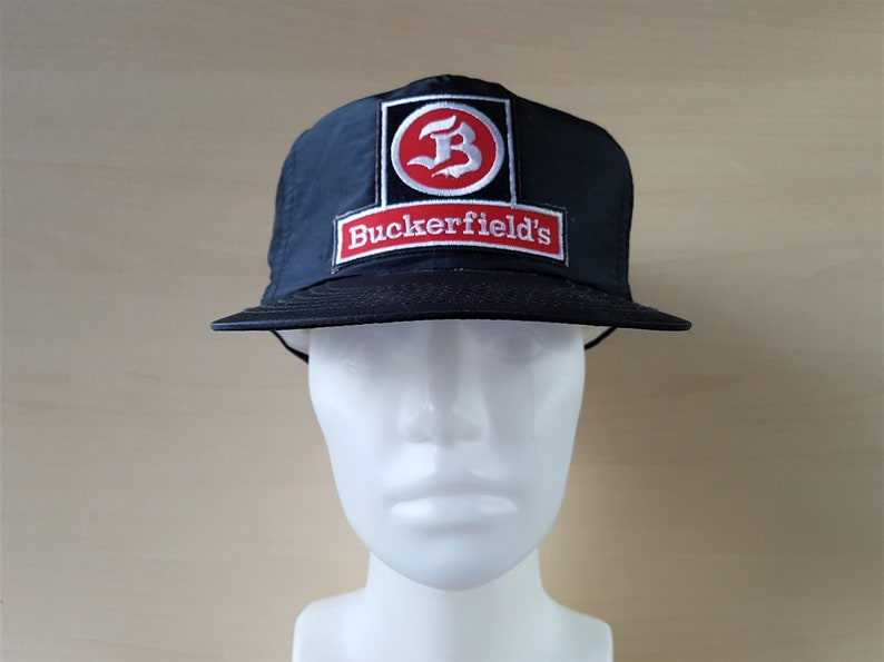 bb1769d0 BUCKERFIELD'S Animal Feed & Farm Hat Original Vintage 80s | Etsy