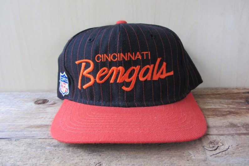 244ccbc4dcc Vintage CINCINNATI BENGALS Sports Specialties Single-Line