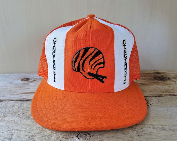 3572dea823509 Cincinnati BENGALS Football Team Vintage 80s Lucky Stripes