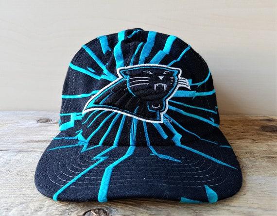... low price 3eea2 705c7 Rare Carolina PANTHERS Snapback Hat Vintage 90s  STARTER Ets ... e084f1741