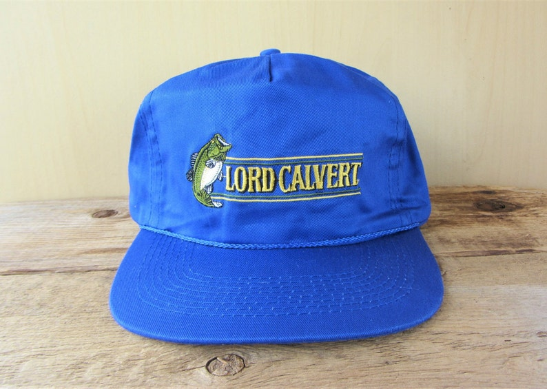 7f0ae1d7753 LORD CALVERT Canadian Whisky Liquor Promo Vintage 90s Snapback