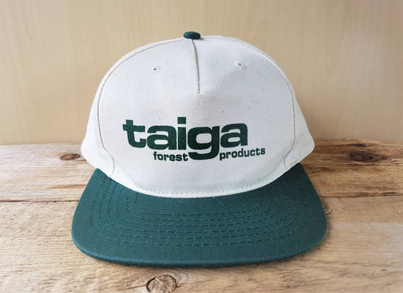 TAIGA Forest Products Vintage Cotton Duck Snapback Hat  6fd3938cfe2d