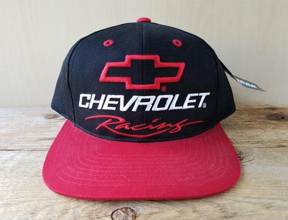 92555d5475d CHEVROLET RACING Vintage 90s Snapback Hat Deadstock NASCAR