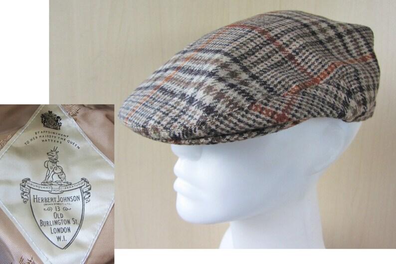 3ab7135fae2 Vintage 70s 80s HERBERT JOHNSON London Wool Classic Tweed