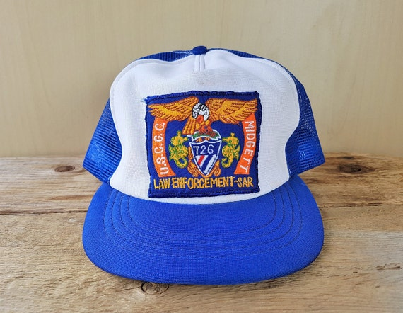 5827f63d426 Vintage USCGC MiDGETT Law Enforcement SAR Hat Blind Eagle