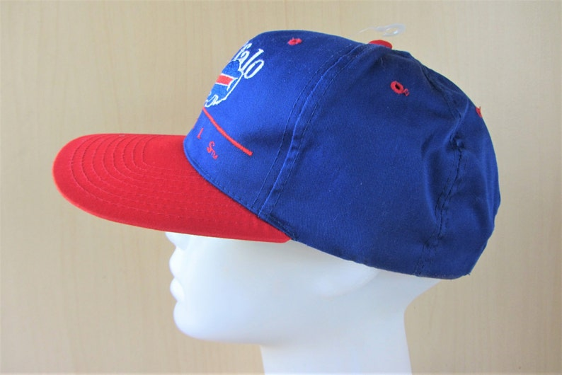 50d1fc9259d Buffalo BILLS Fuji Promo Vintage 90s Eastport Snapback Hat