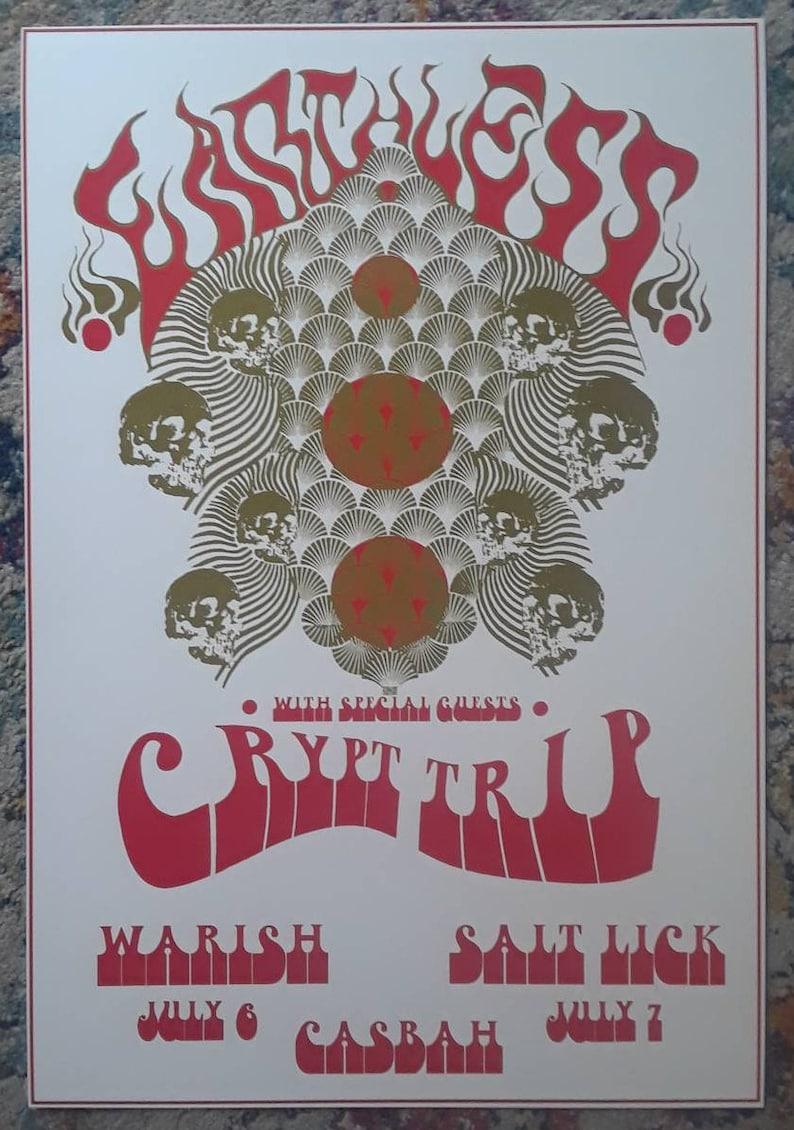 13X19 Psychedelic  Posters concert poster set *2* Gig Poster Set
