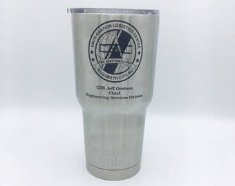 Military Engraved RTIC Stainless Tumblers- Great for Gifts!