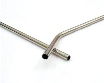 4+ Stainless Steel Straws **Special** Up to 3 FREE