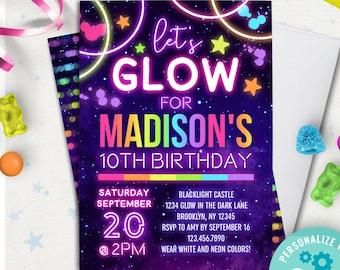 Glow In The Dark Invitations