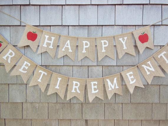 teacher retirement party decor teacher retirement banner etsy