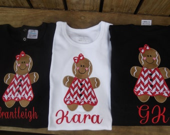 Gingerbread girl, Girgerbread Girl on Shirt