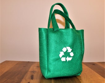 Felt Recyclable Grocery Bag