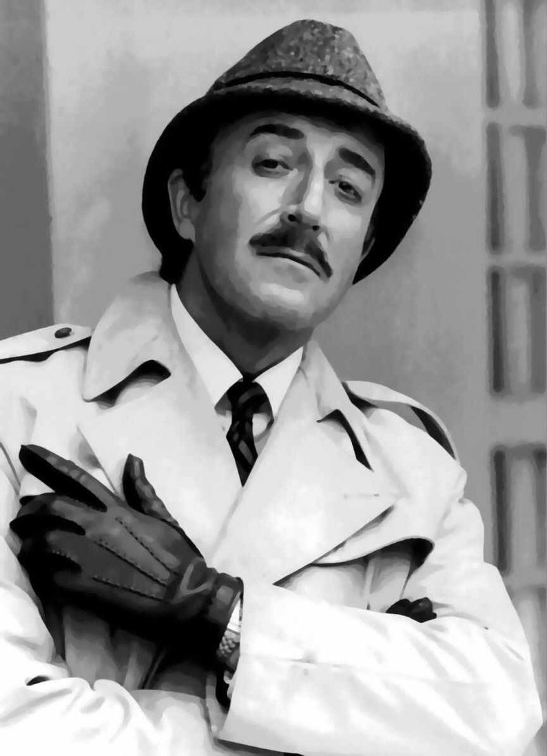 4b79a412ca425 Awesome Peter Sellers Inspector Clouseau Pop Art Paint By