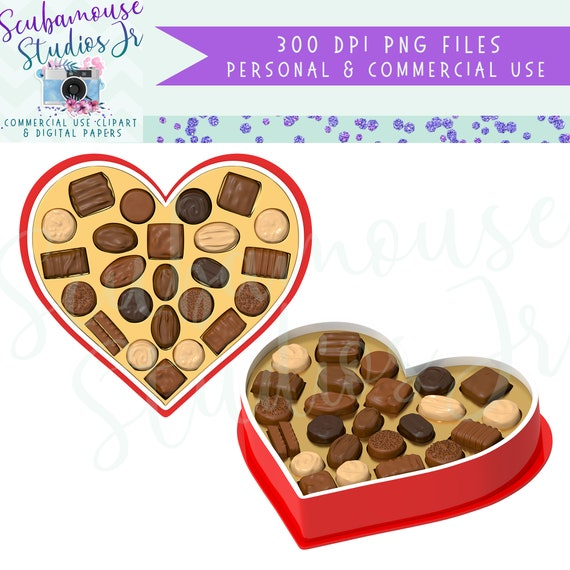 Cupcake Clipart Valentine Clipart Clip Art Chocolate Heart Candy