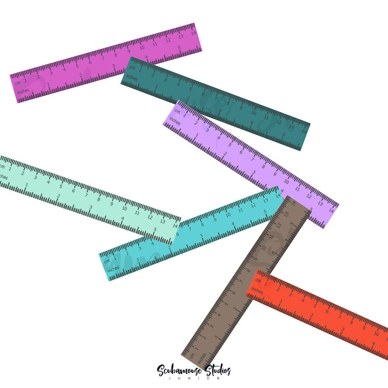 math clipart planner sticker supply planner clipart ruler clipart school clipart rulers clipart measuring clipart