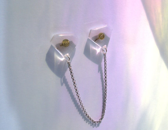 Collar Clips Black Collar Pins Collar Brooch Gift under 20 Minimalist Sweater Clip Collar Tips Cardigan Clips Collar Chain Teen Gift