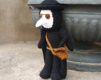 Plague doctor- plague doctor mask - occult - Cthulhu - raven mask - medieval - steampunk - hp Lovecraft - halloween - doctor bag - Larp