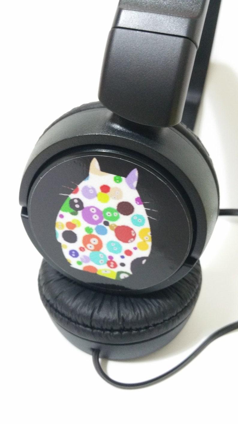 ec8cf798074 AURICULARES MUSICA TOTORO mp3 friki anime ghibli miyazaki | Etsy