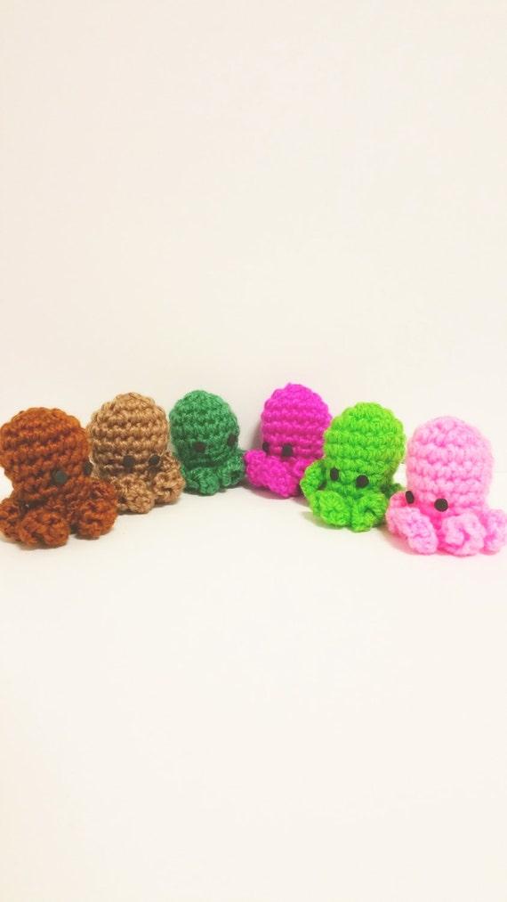 ADORNOS PULPOS CTHULHU incluye 6 muñecos friki ganchillo | Etsy
