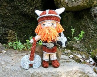 Viking / amigurumi/ nordic / for viking newborn / crochet / followers of Odín / Thor / Nordic