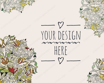 Download Free Floral Stationery Mockup,Your Design Here,Branding Images for Your Business,Invitation Mockup,Listing Mockup,Card Mockup,Social Media PSD Template