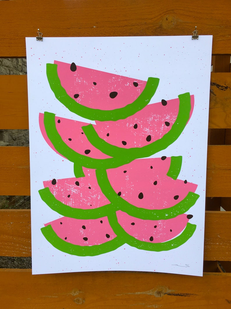 Watermelons Print image 0