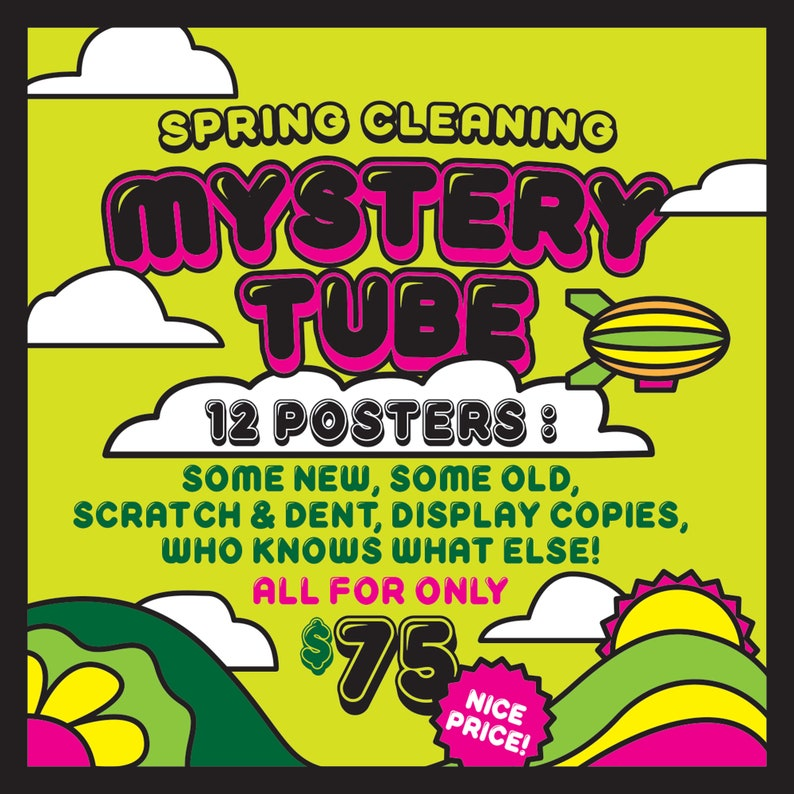 Spring Cleaning Mystery Tube image 0