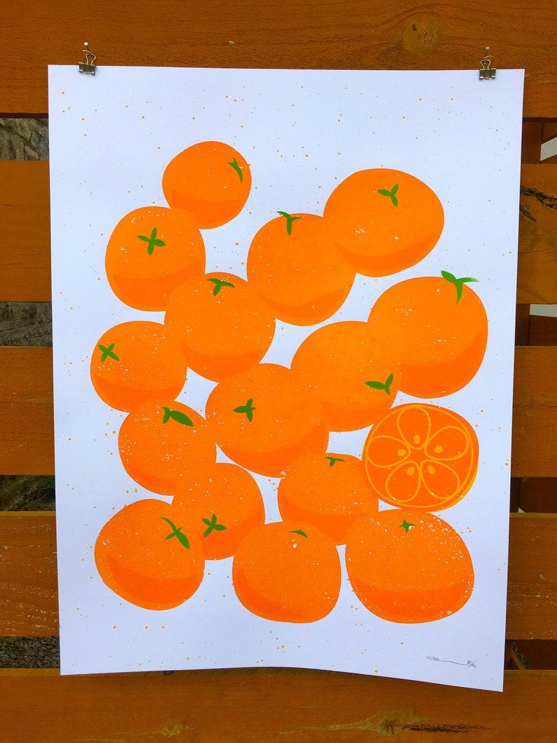 Oranges Print image 0