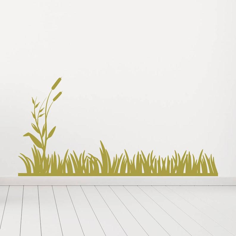 Grass Decal, Grass Sticker, Reeds Decal, Reeds Sticker, Wall Decal, Wall  Sticker, Wall Art, Grass Blades, Skirting Decal, Skirting Decal