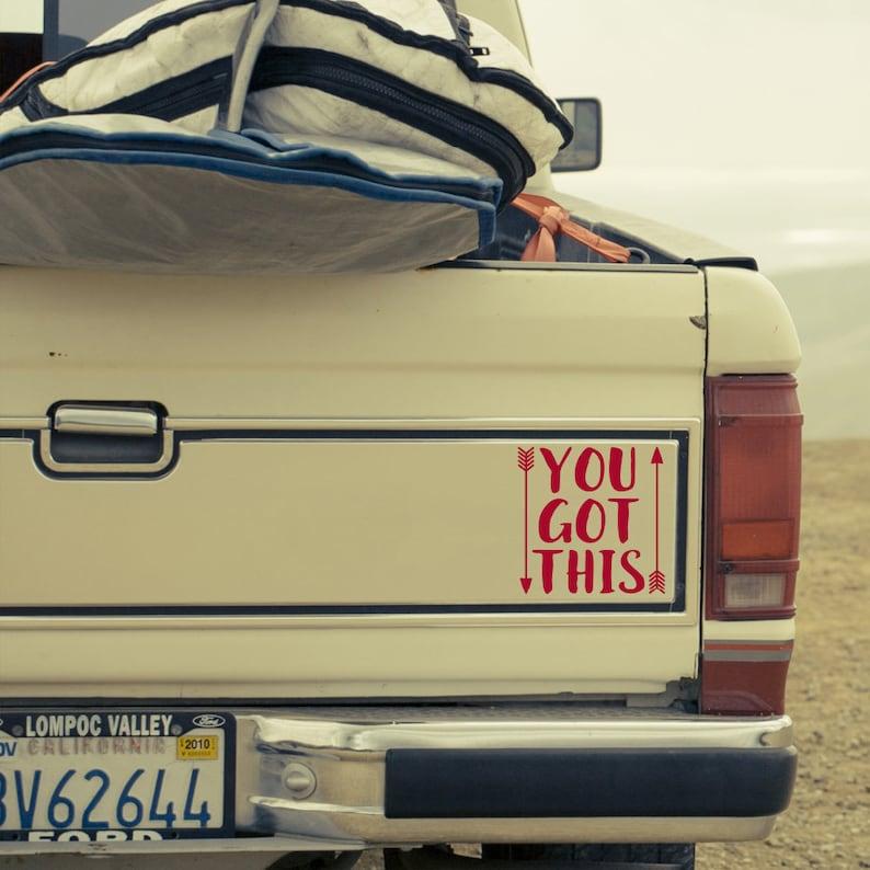 Inspirational Quotes Stickers Window Truck Car Vinyl Bumper Sticker Decal 5 Choose Adventure