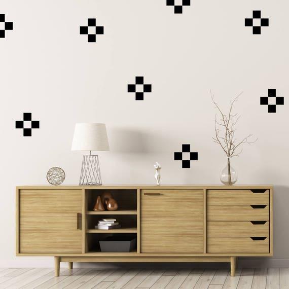Pixel Sticker Confetti Decal Square Stickers Confetti Sticker Pixel Art Home Decor Set of 50 Square Decal Wall Confetti Wall Decals