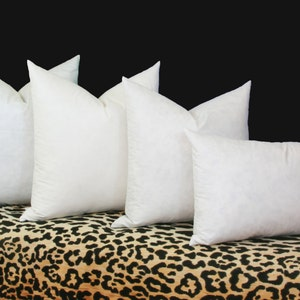 12x16 Set of Two Feather//Down EURO Pillow Form Cushion