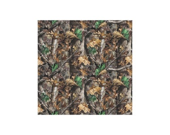 Bolt End 10in - RealTree Cotton Flannel 10023 by Print Concepts 100% Cotton Flannel Fabric