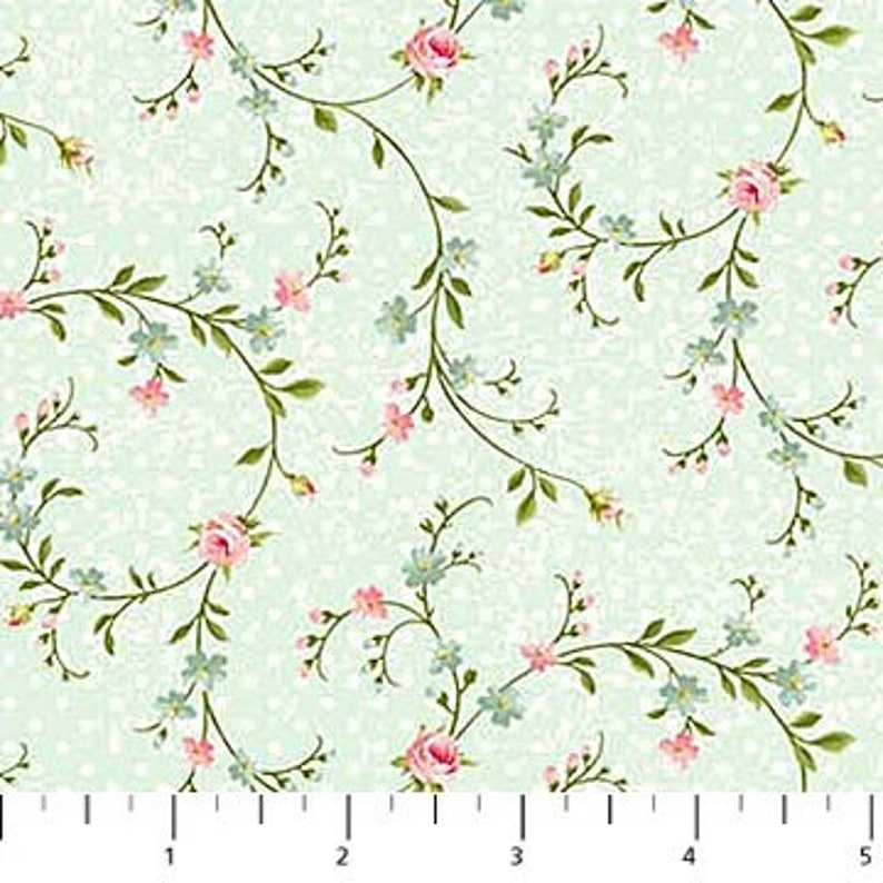 QUILTING 100/% COTTON FABRIC HOPELESSLY ROMANTIC by Northcott fabrics