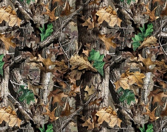 RealTree Advantage #6000 by Print Concepts 100% Cotton Camouflage Fabric Yardage