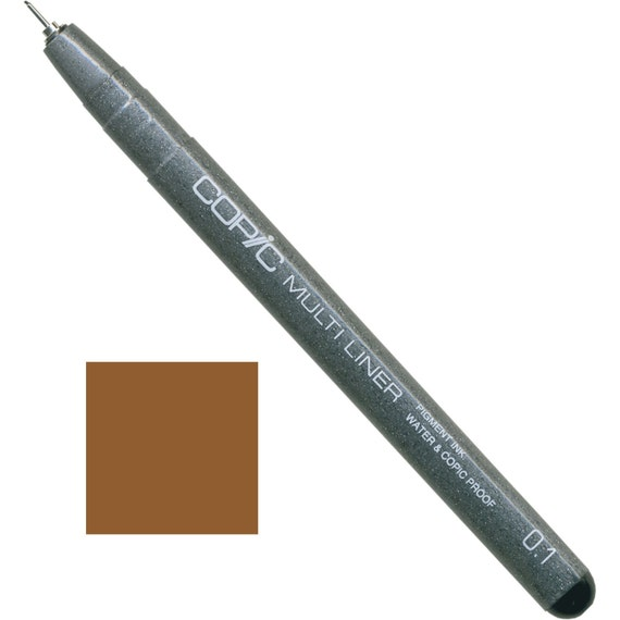1 pezzo Nero Copic Multiliner Penna 0,5 mm